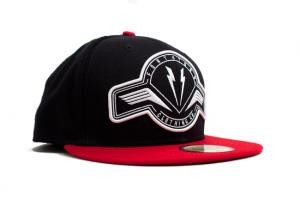 Emblem Snapback Navy/Red
